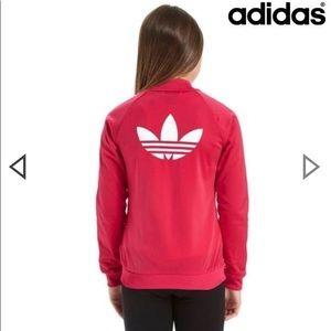 Pink Adidas Supergirl Track Jacket